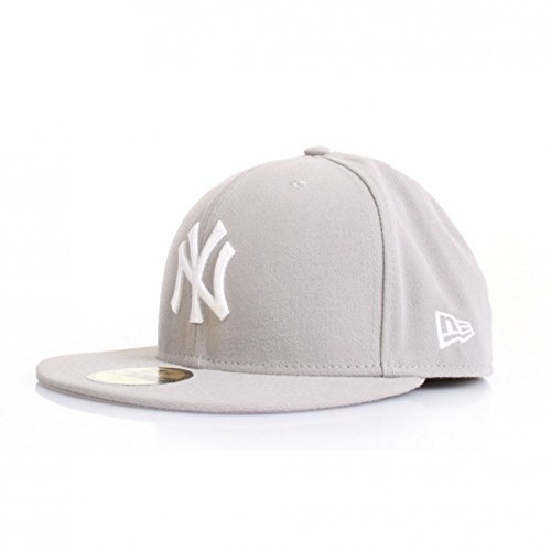 Casquette NEW ERA 59 fiftys – NY Yankees – Grey/White