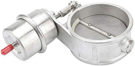 Monland Piezas de Modificaci/óN del Coche V/áLvula de Control de Aire de Tubo de Escape Modificado Universal V/áLvula de Escape de Vac/íO del Coche 63MM