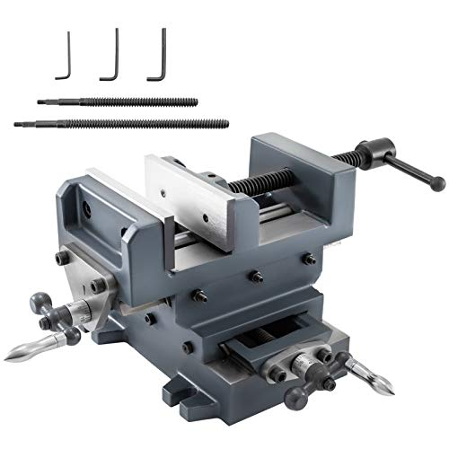 [해외]Mophorn 6 inch X-Y Compound Cross Slide Vise Drill Press Metal Milling With Free Double Screw Rods / Mophorn 6 inch X-Y Compound Cross Slide Vise Drill Press Metal Milling With Free Double Screw Rods