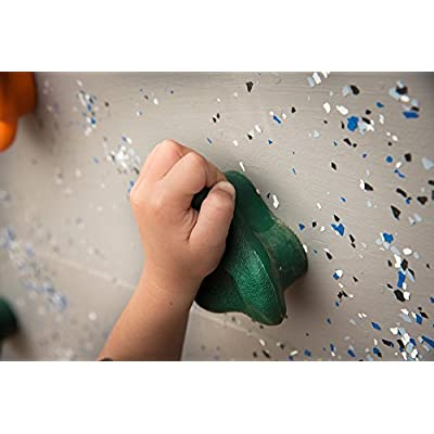 Kids Large Rock Climbing Holds (5 Pack) - with Mounting Hardware for up to 1