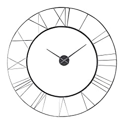 AR Lighting Carroway Art Deco Wall Clock
