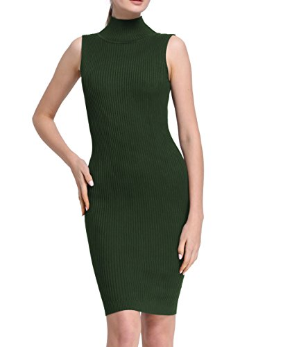 Firpearl Womens Ribbed Sleeveless Sweater