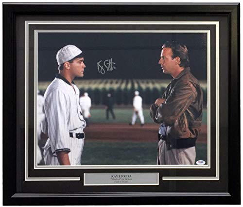 Ray Liotta Autographed Signed Memorabilia Framed 16x20 Field Of Dreams Shoeless Joe Jackson Photo - PSA/DNA Authentic (Shoeless Joe Jackson Framed Photo)
