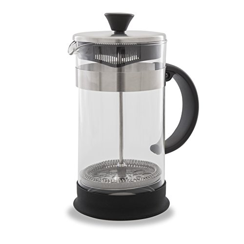 French Press Coffee Maker Cleaning : French Press Coffee, Tea & Espresso Maker - Easy Cleaning, Quality Filter System, Glass ...