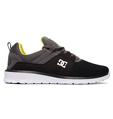Shoe Sneakers Heathrow Hommes Black Dc Shoes battleship M Basses Noir lime IcqItUW