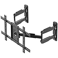 Monoprice Cornerstone Series Full-Motion Articulating TV Wall Mount Bracket - For TVs 37in to 70in Max Weight 99lbs VESA Patterns Up to 600x400 Rotating