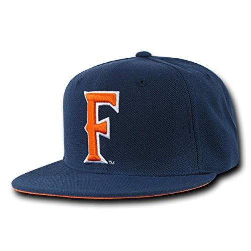 W Republic Apparel Freshman Fitted Acrylic High Definition Cap, Navy, 7.75 - Freshman Fitted Cap