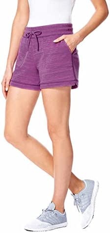Shorts for Women//Girls Lounging Running Travel Yoga Casual Active 32 DEGREES Ladies/' Fleece Lounge