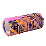 Pytho Foam Trigger Massage Roller for Athletes, Crossfit, Yoga and Physical Therapy with Bag, Random Colour