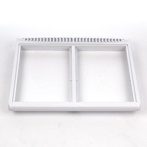 (Frigidaire 240364701 Refrigerator Crisper Drawer Cover Frame Genuine Original Equipment Manufacturer (OEM) Part for Kenmore, Frigidaire, White-Westinghouse, Galaxy)