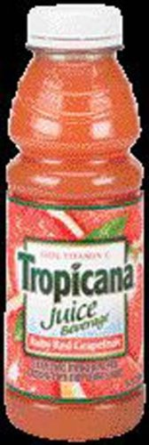 Tropicana Ruby Red Grapefruit Juice 15.2 oz - 12 (Tropicana Ruby Red Grapefruit)