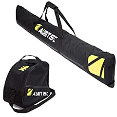 Brand: Aumtisc Product description: SKI BOOT BAG Keep your equipment organized. Our boots are perfect for pairing with a pair of skis or snowboard boots, suitable for cap, pants, gloves,helmets or goggles and more. The shoulder strap i...