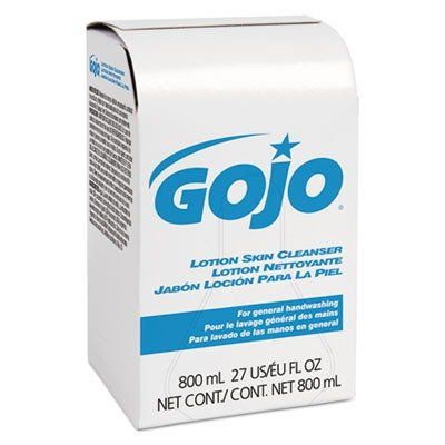 GOJO 9112-12 Lotion Skin Cleanser, 800 mL Refill (Pack of (Antiseptic Lotion Hand Soap)