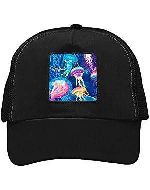 Unisex Jellyfish Adjustable Classic Hiphop Hat Baseball Cap Snapback Dad Hat