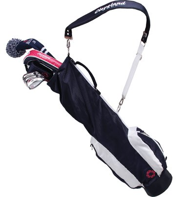 Cleveland Golf Bloom GO Box Set (Women's, Right Hand, Ladies, 3 Wood, 5H, 7, 9, SW, Graphite, Navy, Putter and Carry Bag)