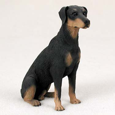 - Conversation Concepts Doberman Pinscher Black w/Uncropped Ears Standard Figurine (Set of 6)