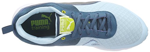 Puma Evader Fusion WN's, Women's Fitness Shoes Blue - Blau (Clearwater-blue Coral-metallic Dark Grey-sulphur Spring-whit 01)