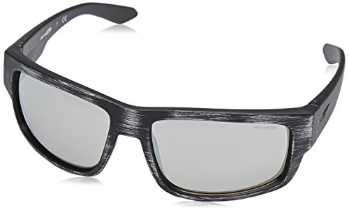 Black Rectangular Silvery Grifter Iridium Men's Non Mm Arnette 62 polarized Sunglasses Matte qRHx8w