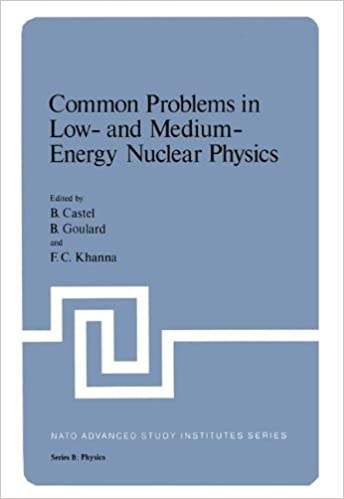 Common Problems In Low And Medium Energy Nuclear Physics