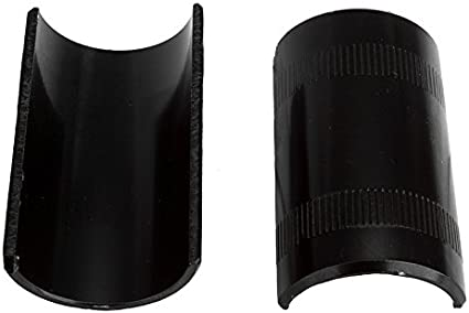 Bicycle Handlebar Shims//Adapter 22.2 to 25.4 Black