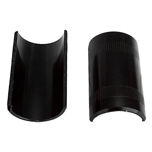 Sunlite Handlebar Shims, 22.2 to 25.4mm, Black