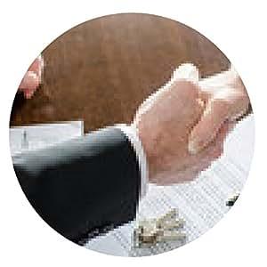 my-puzzle-design alfombrilla de ratón Agente de raíces, agitando la mano a su cliente - ronda - 20cm