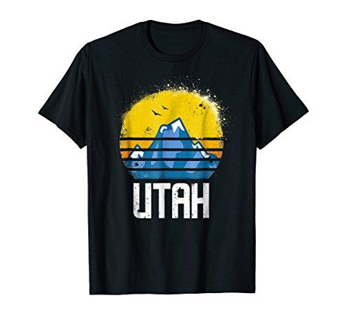 Utah Retro Sun T Shirt Hiking Ski