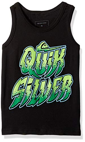 Quiksilver Boys' Little EXPEDITE Tank, Black, 6