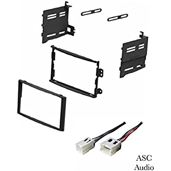 Double DIN Car Stereo Dash Kit Wire Harness for 2003-2005 Nissan 350Z