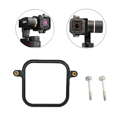 Mount Plate Adapter for GoPro Hero 5/4 Session Cam, Switch Mount Plate for Feiyu G5/WG2 Gimbal Handheld Accessories (Adapter for Gopro Session) (for Session)