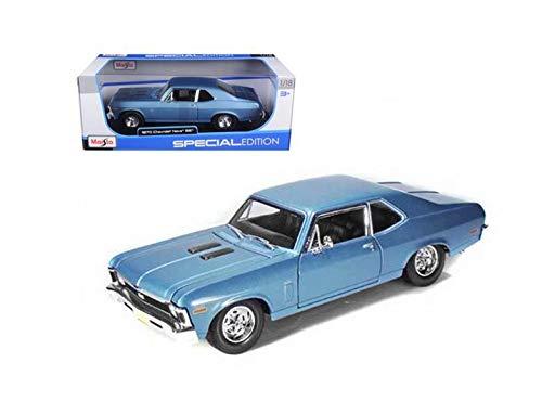 DIECAST 1:18 Special 1970 Chevrolet NOVA SS Hard TOP 31132BL by MAISTO