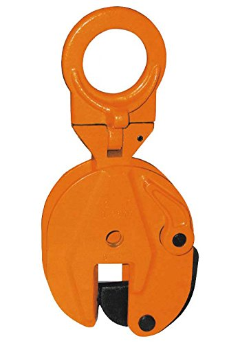(V-Lift Industrial Vertical Plate Lifting Clamp Steel 1,732 pounds WLL .8T)