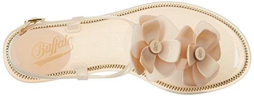 BUFFALO Pth-0020 Pvc, Protectores de Dedos para Mujer Beige (Nude 01)