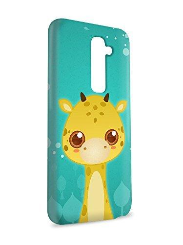 Case Fun Case Fun Giraffe by DevilleART Snap-on Hard Back Case Cover for LG G2