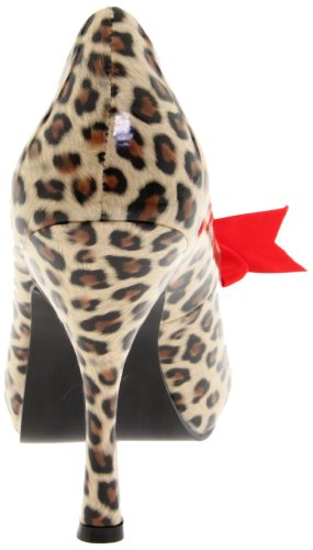 Pin UK EU Up 3 Print Couture 06 CUTIEPIE Cheetah 36 PU Tan qqpUrw