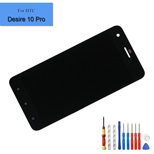 for HTC Desire 10 Pro D10W D10i 5.5 Inch Replacement LCD Display Touch Screen Digitizer Glass Black + Tools