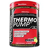 ThermoPump - ELECTRIC LEMONADE - High Performance Pre-Workout Supplement with Creatine, Betaine Anhydrous, Beta Alanine and Taurine, 50 Servings, 2lb container