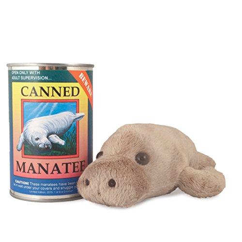 (Canned Critters Stuffed Animal: Manatee)