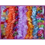 Luau Flower Leis - 25 Pc - Tropical Flower Lei Assortment