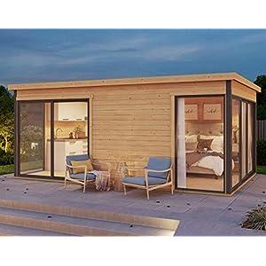 Best Epic Trends 416ppkZJowL._SS300_ Allwood Palma 3 | 176 SQF 2 Room Studio Cabin Kit