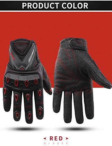 SCOYCO Camouflage Tactical Gloves,Breathable Full Finger Shell Protection Street Cycling Motorcycles Glove Camo,XL