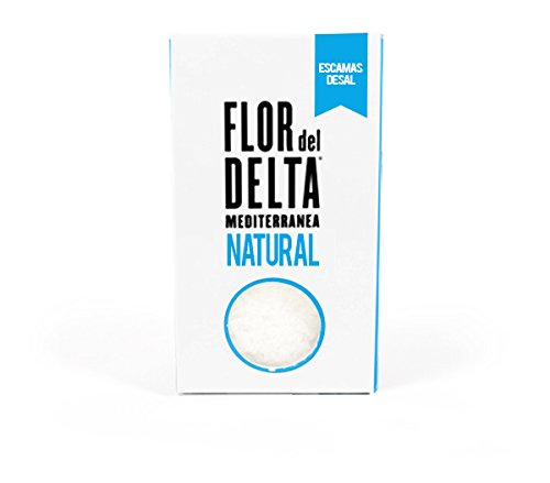 Amazon.com : Flor del Delta - Natural Flakes - Doypack 125g. : Grocery & Gourmet Food
