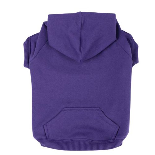 Dog Hooded Sweatshirt Ultra purple X Large