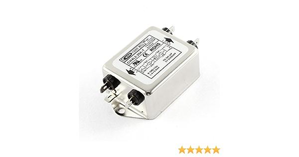 60Hz Module de filtre dalimentation Terminal de filtre dalimentation pour tapis roulants d/équipement m/écanique Filtre de ligne /électrique Cw4L2-20A-T ligne /électrique 20A 50