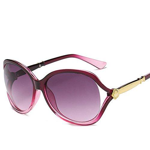 Aoligei Mode lunettes de soleil lady fleur creux tendance lunettes de soleil personnalité cent paire de lunettes de soleil G