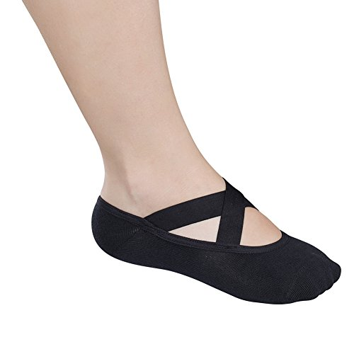 Lupo Essential Crossover Pilates Socks