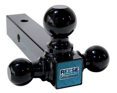 Reese Triple Ball Mount 1 - 7/8, 2 - 5/16, 2, 8 L Blk 2 - 5/16 2 8 L Blk