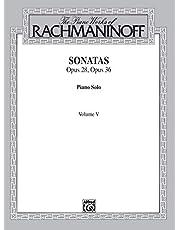 The Piano Works of Rachmaninoff, Vol 5: Sonatas, Op. 28, Op. 36 (Volume 5)