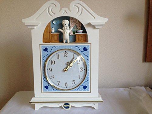 Pillsbury Doughboy Wall Clock ()