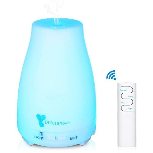 Diffuserlove MAX 220ML Essential Oil Diffuser Ultrasonic Remote Control Aromatherapy Diffuser Mist...